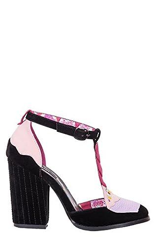 Iron Fist Sandalette BAKERS DOZEN T-BAR HEEL (39, Schwarz)