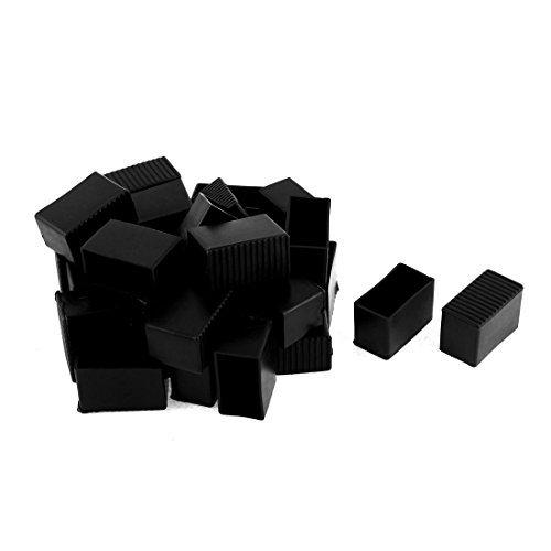 DealMux Kunststoff-Möbel Stuhl Nonslip Fuß Beinschutz Pad 40mmx20mm 30pcs