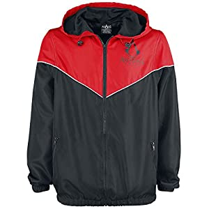 Assassin's Creed Logo Windbreaker schwarz/rot