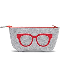 2c96368e0b30 Amazon.co.uk  Red - Glasses Cases   Eyewear   Accessories  Clothing