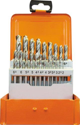 Projahn 60840 HSS-G DIN1897 Coffret de 21 forets en acier rapide Ø 2-10 2 mm par 0,5 mm