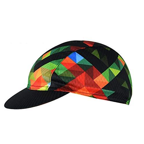 Unisex Cycling Cap, Vintage Ligero, Transpirable, Anti-Sudor Sombreros Summer Under Helmet Cap para Andar en Bicicleta