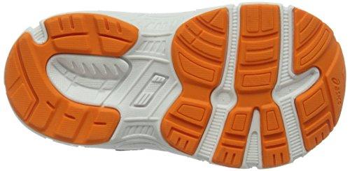 Asics Unisex-Kinder Gt-1000 5 Ts Sneakers Blau (Indigo Blue/hot Orange/thunder Blue)