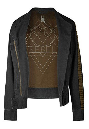 Musterbrand Star Wars Jacke Damen Jyn Rogue One Grau M