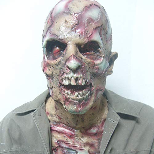 Maschera spaventosa del costume di halloween di halloween, maschera diabolica piena del mostro del diavolo per la decorazione del partito degli adulti