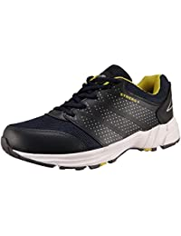 Action Shoes Action Synergy Men's Sports Running Shoes SRH0033 NavyBlue Yellow