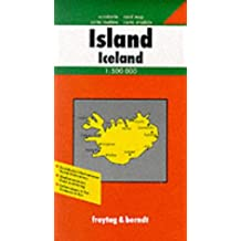Carte routière : Islande