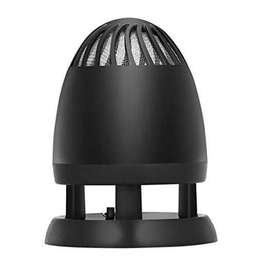 DZW LED Insektenvernichter (UV-Lampe, Gift-Free strahlungsfrei Controls Insekten wie Fliegen, Motten, Mücken und Moskitos, Nutzung Innenaufnahme , um die Home) Muten , silveryZuverlässige Qualität