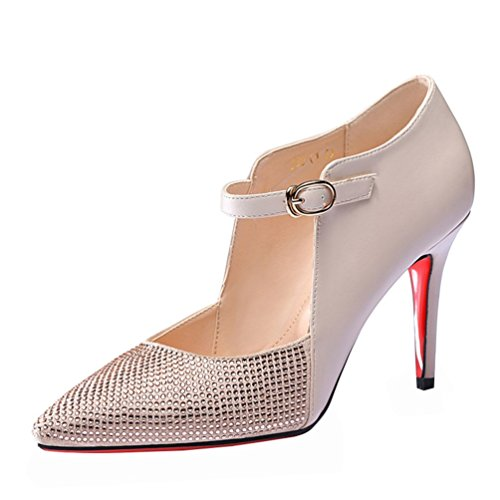 fq-real-women-fashion-casual-pu-leather-rhinestone-pointed-toe-strap-thin-heel-pumps-shoes45-uk-beig
