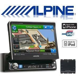 alpine nve300511btr autoradio gps dvd divx cd ipod mp3 usb bluetooth parrot high tech. Black Bedroom Furniture Sets. Home Design Ideas