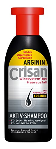 Crisan Anti-Haarausfall System Aktiv-Shampoo mit L-Arginin, 250ml