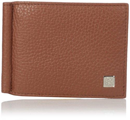 bruno-magli-mens-bicolor-money-clip-wallet-brown-one-size