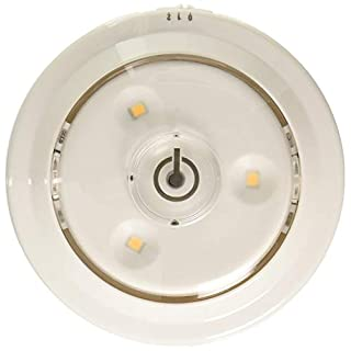 AMERTAC-WESTEK LPL620WXLL 55 Lumens White Swivel Puck Light