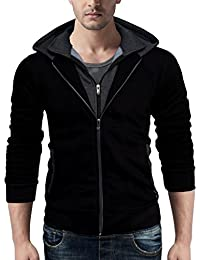 Seven Rocks Rich Cotton Men's Hoodie Sweatshirt Jacket