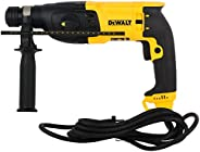 DEWALT D25133K 800W 26mm SDS-Plus 3 Mode 2Kg Combi Hammer - 2.9 J Impact Energy