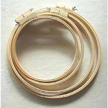 Bastidor de madera para bordar (25,4 cm)