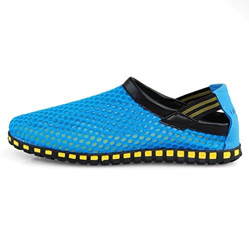 Paio di sandali di baotou/Scarpe uomo e donna/Casual pantofole-E Lunghezza piede=25.8CM(10.2Inch)