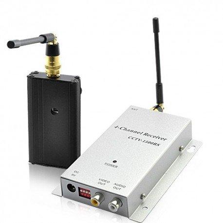 Advanced Wireless AV Signal Booster Kit / récepteur pour caméras de sécurité - 500m plage