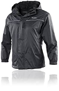 Gelert Boys Rainpod Jacket - Black, Size 3/4