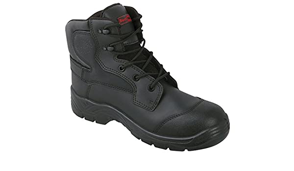 Mens Steel Toe Hiking /& Trekking Work Boots Size 6 to 12 UK RUBY HIGH SHOE