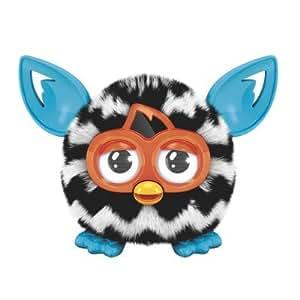 Peluche interactive Furby Furblings : Zig Zag blanc et noir