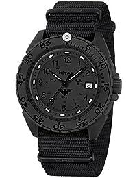 KHS Tactical Watches Enforcer Black Titan XTAC Militär Armbanduhr KHS.ENFBTXT.NB