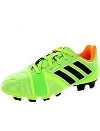 half off a284f 497f8 adidas Nitrocharge 3.0 TRX, Stivali Bambino, Lime Green Black Orange, Size