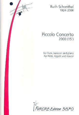 Piccolo Concerto : für Flöte, Posaune, Klavier (Concerto Flöte)