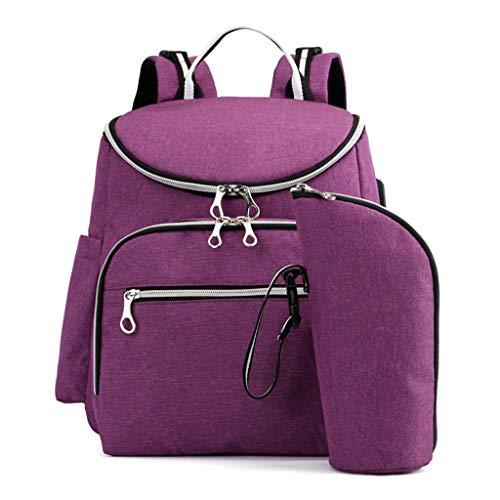 sports shoes 92a60 932c6 KERULA Rucksack Damen Herren Studenten Backpack Laptop für  Multifunktionsrucksack Camping Mamabeutel USB-Rucksack GroßEr KapazitäT  Babyreisen