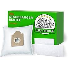 20 Bolsas de aspiradora + 2 filtro adecuado para Aldi, Quigg Compact Home Eco 2