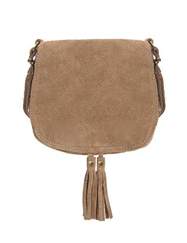 fcb750cf8cda9 Ledertasche dunkel blau klein Lederhandtasche Umhängetasche Fransen echt  Leder Tasche Wildleder Handtasche Vintage Damen 5-