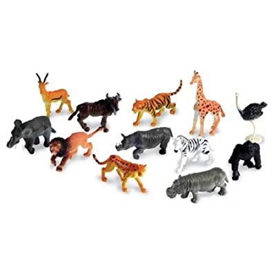 Learning Resources Jungle Animal Counters (Set of 60) by Learning Resources