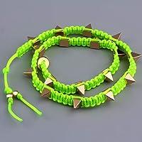 Swiftswan Bracelet Bracelet Bracelet Femme Bijoux Longs Goujons Rivets Wrap Bracelet Weave Corde À La Main pour... preisvergleich bei billige-tabletten.eu