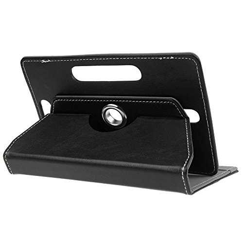 Ensure Basics High Quality 360° Rotating Leather Flip Case For Lenovo Tab 2 A10-70 Cover Stand for 7 inch- Black  available at amazon for Rs.199
