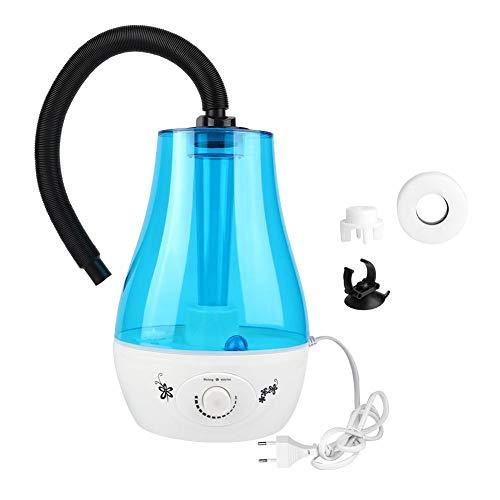 HEEPDD 3L Reptilien Luftbefeuchter, 3L Wassertank Kein Lärm Cool Nebelmaschine mit verstellbarem Knopf für Echsenchamäleon Schlangen Terrarium EU Stecker 100-240V(EU-Stecker)