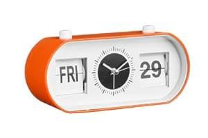 Premier Housewares 2200731 Réveil Flip Orange