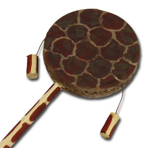 "Afrikanische Handtrommel\""Tic-Tac Drum\"", Giraffenmuster"