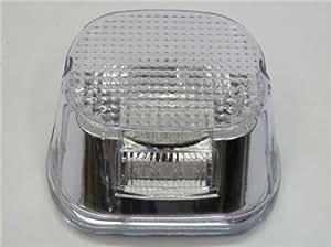 LED Transparent Lampe de frein de queue pour Harley Dyna Softail Sportster FL FLH FX XL testé conditions extrêmes Harley Road King Electra Glide Touring Commode