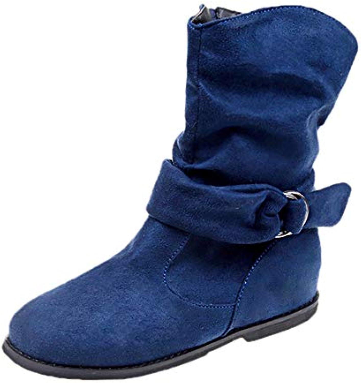 ??luoluoluo?? Shoes Femme Bottes, Bottes en Daim Vintage pour Femmes Style Vintage Daim Femmes Chaussons Plats Ensemble De...B07JGLBPLGParent 3798bf