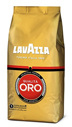 Lavazza Café Grain Qualita Oro 500 g - Lot de 4