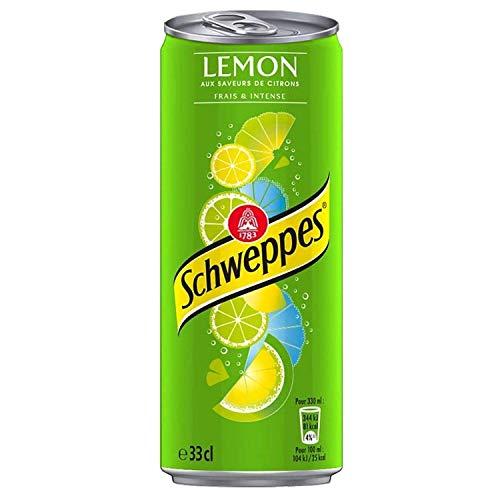 Schweppes Lemon 33cl (pack de 24)