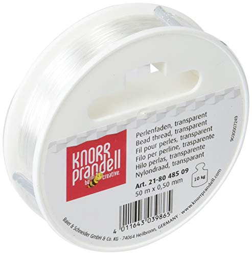 Gütermann / KnorrPrandell 8048509 - Hilo nylon transparente