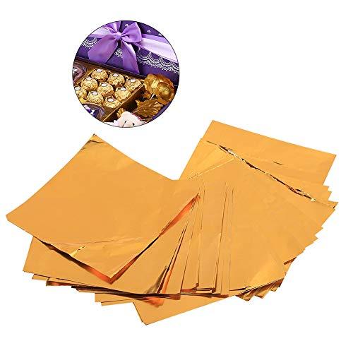 Gute Kostüm Hausgemachte - Folienverpackungen 100Pcs / Lot, quadratische Süßigkeit-Bonbon-Schokoladen-Lutschbonbon-Verpackungs-Süßigkeiten 3