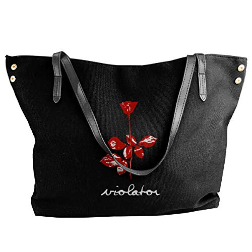 Fashion Depeche Mode Violator (2) Schultertasche Canvas Handtasche Tragetasche