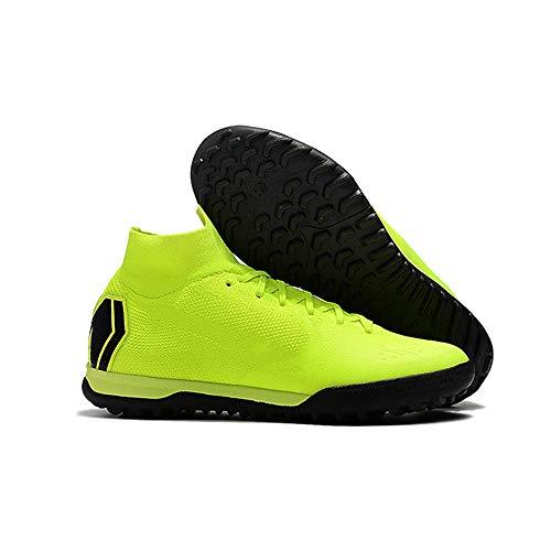 Scarpe da Calcio da Uomo Tacchetti da Allenamento Long Spikes Scarpe da Tennis per Bambini Sneaker 6.5 Vedi Grafico