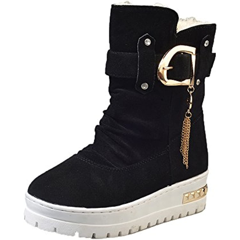 Sonnena Femmes Bottes Chaussures Femme Chaussures Pompons à Pompons  Chaussures Automne Hiver Bottes Fourrées Femmes Bottes. « 5c0dd2ce9bdf