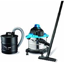 Aquavac 58120204 Boxter 15 S + Fire 2000 EDS - Aspiradora industrial, color negro y azul