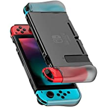 UGREEN Nintendo Switch Hülle Silikon Transparent Schutzhülle Dockable Crystal Case Passt Perfect auf Dock und Joy Con