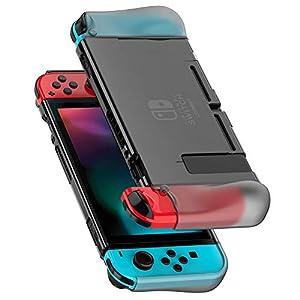 UGREEN Nintendo Switch Case Nintendo Switch Schutzhülle Silkon Crystal Case Nintendo Switch Cover Hülle Passt Perfect auf Dock und Joy Con