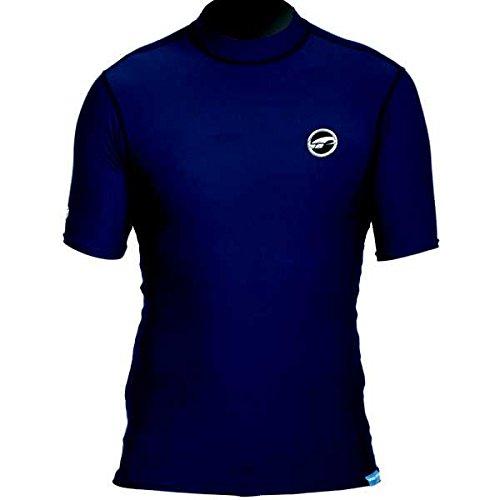 Prolimit Herren kurzärmlig Uv-badeuv-Shirt Blau, XL Preisvergleich